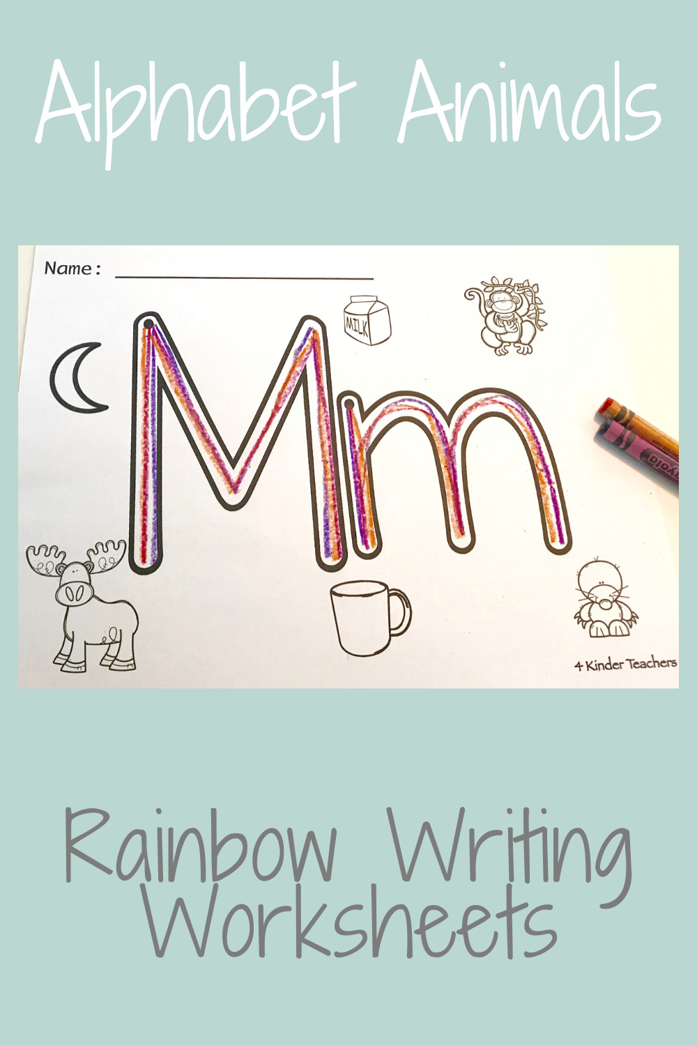 What Is Rainbow Writing?