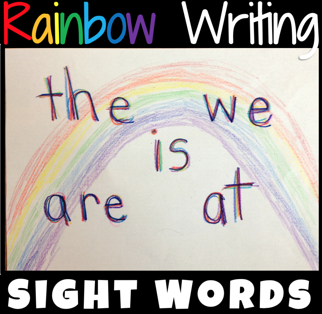 what-is-rainbow-writing-spelling-words