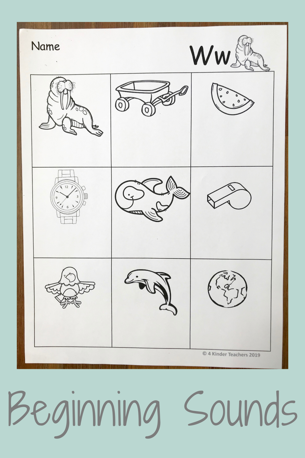 How to Use Fun Worksheets on Beginning Sounds
