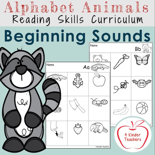 worksheets-on-beginning-sounds