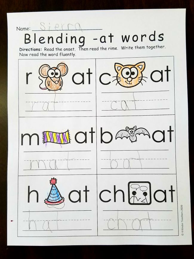 at-word-family-worksheets