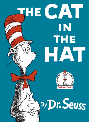 cover of the book cat in the hat