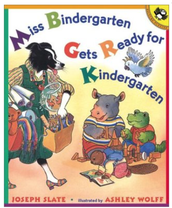 picture of book cover for Miss Kindergarten Gets Ready for Kindergarten