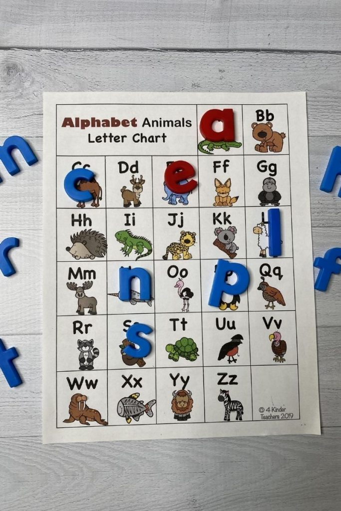 abc letter chart