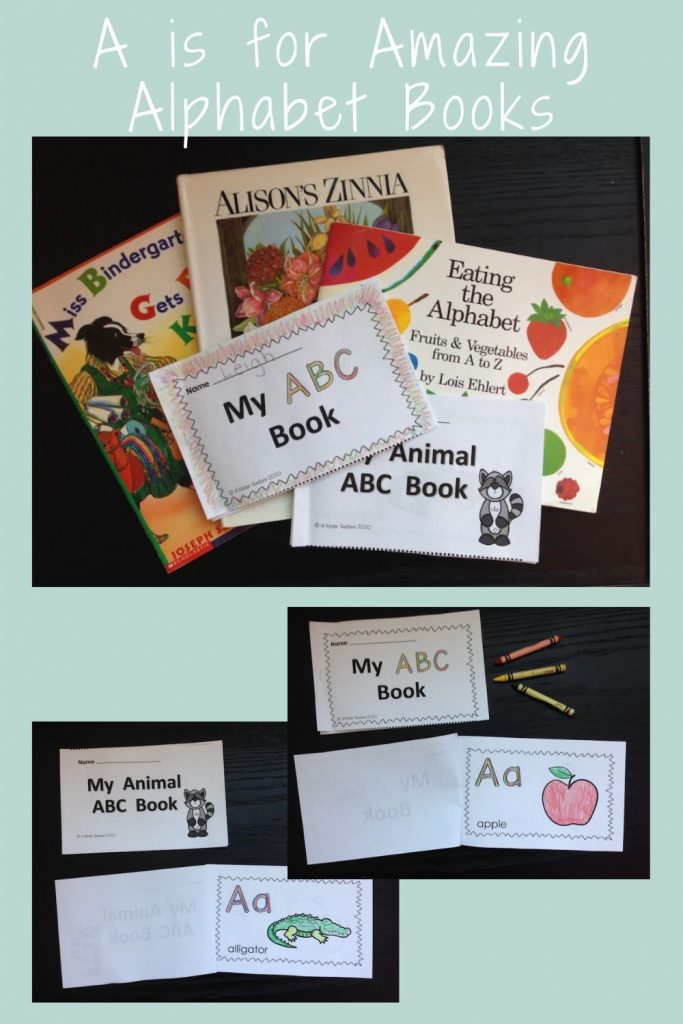 alphabet books for preschool and kindegarten