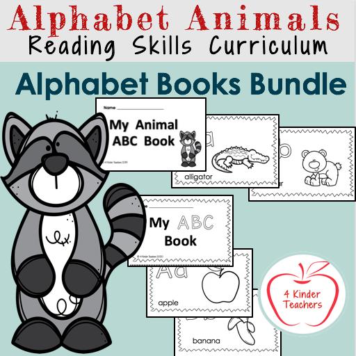 alphabet books for preschool and kindergarten cover