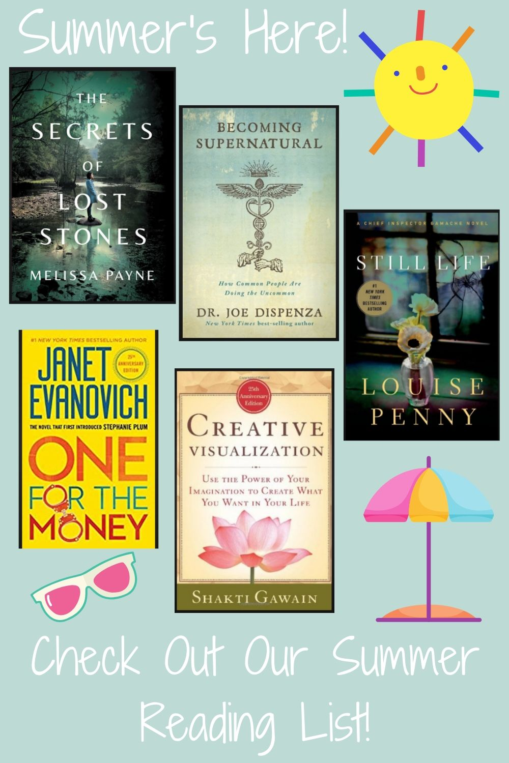 Summer's Here! So Check Out Our Summer Reading List!