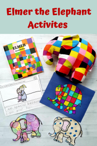 Make it a FUN Friday with these Awesome Elmer the Elephant Activities