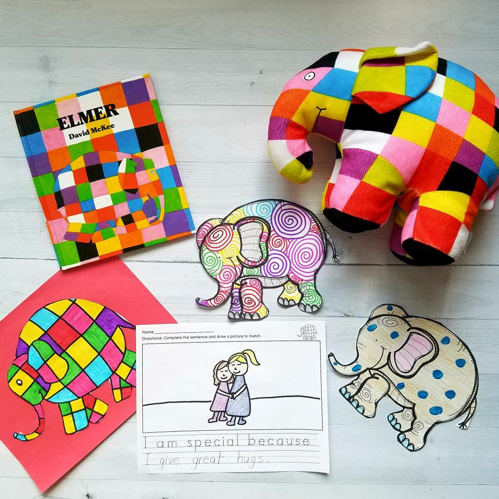 Elmer the Elephant activities for kindergarten