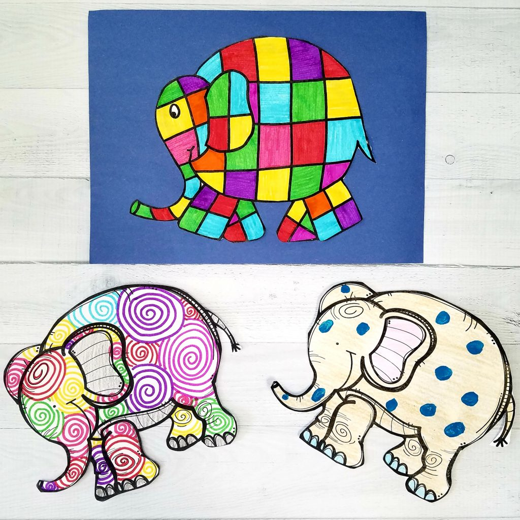 Elmer the Elephant Art Activities