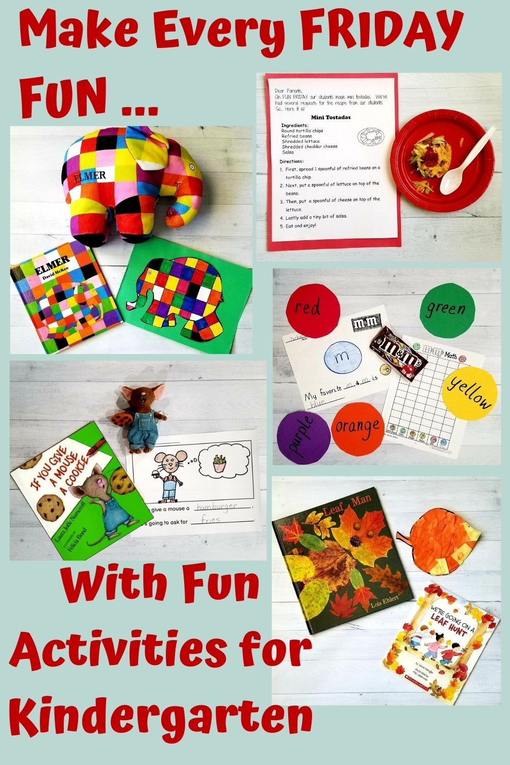 Make Every Friday Fun With Fun Activities for Kindergarten