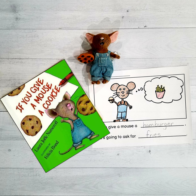 if you give a mouse a cookie book and writing activity for kindergarten