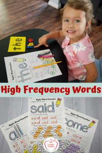 High Frequency Words: How to Make Learning Them Fun