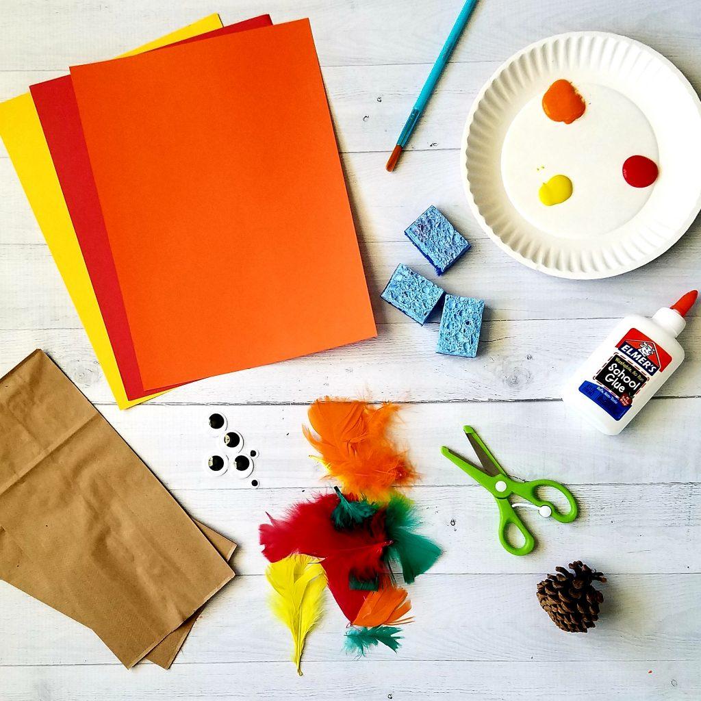 supplies to make activities for kindergartners