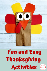Thanksgiving for Kindergarten: Fun and Easy Activities