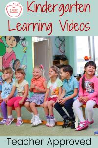 Teacher Approved Kindergarten Learning Videos