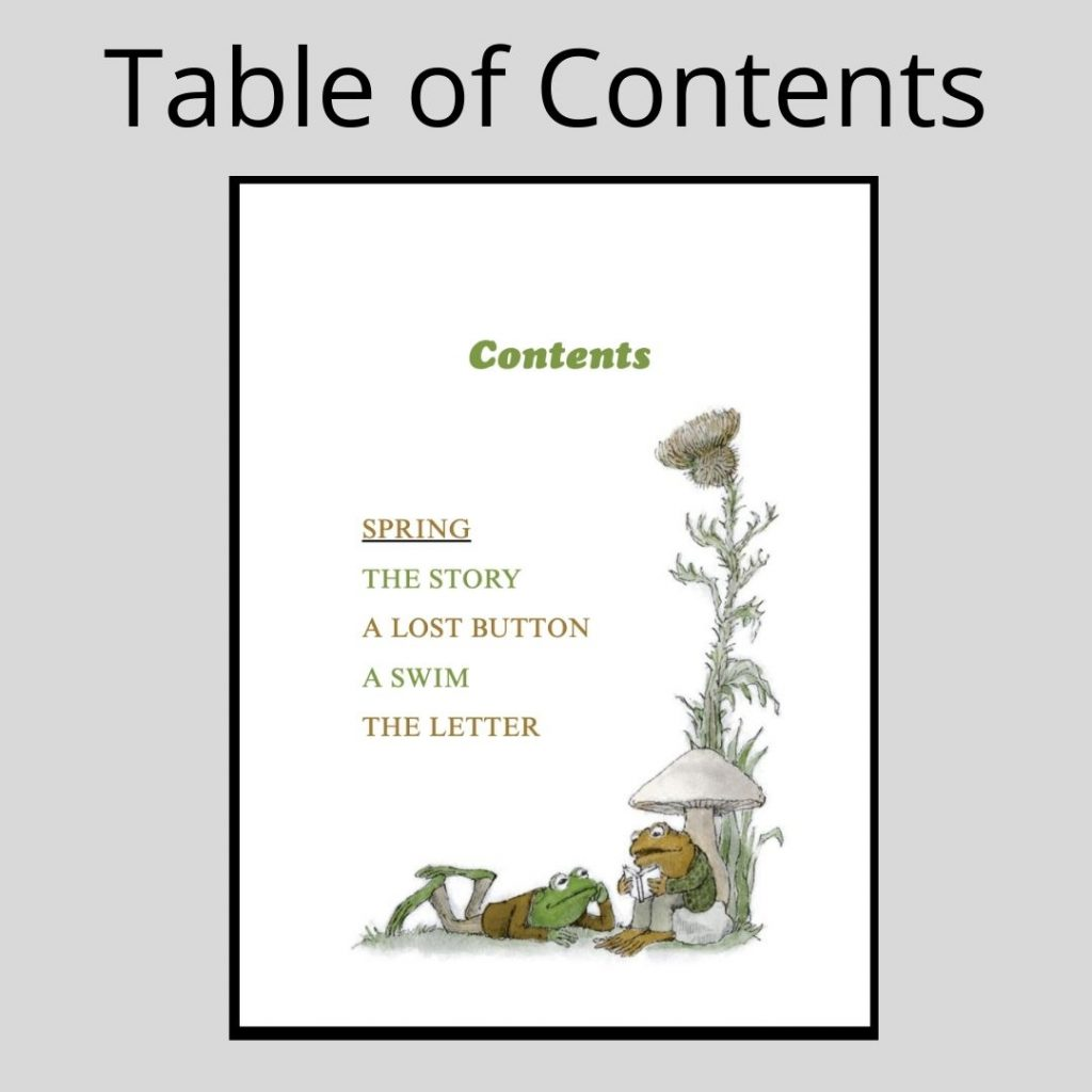 fiction-text-features-table-of-contents