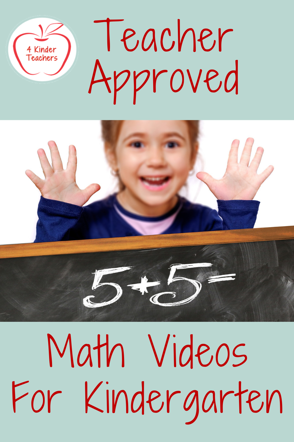 Teacher Approved Math Videos for Kindergarten