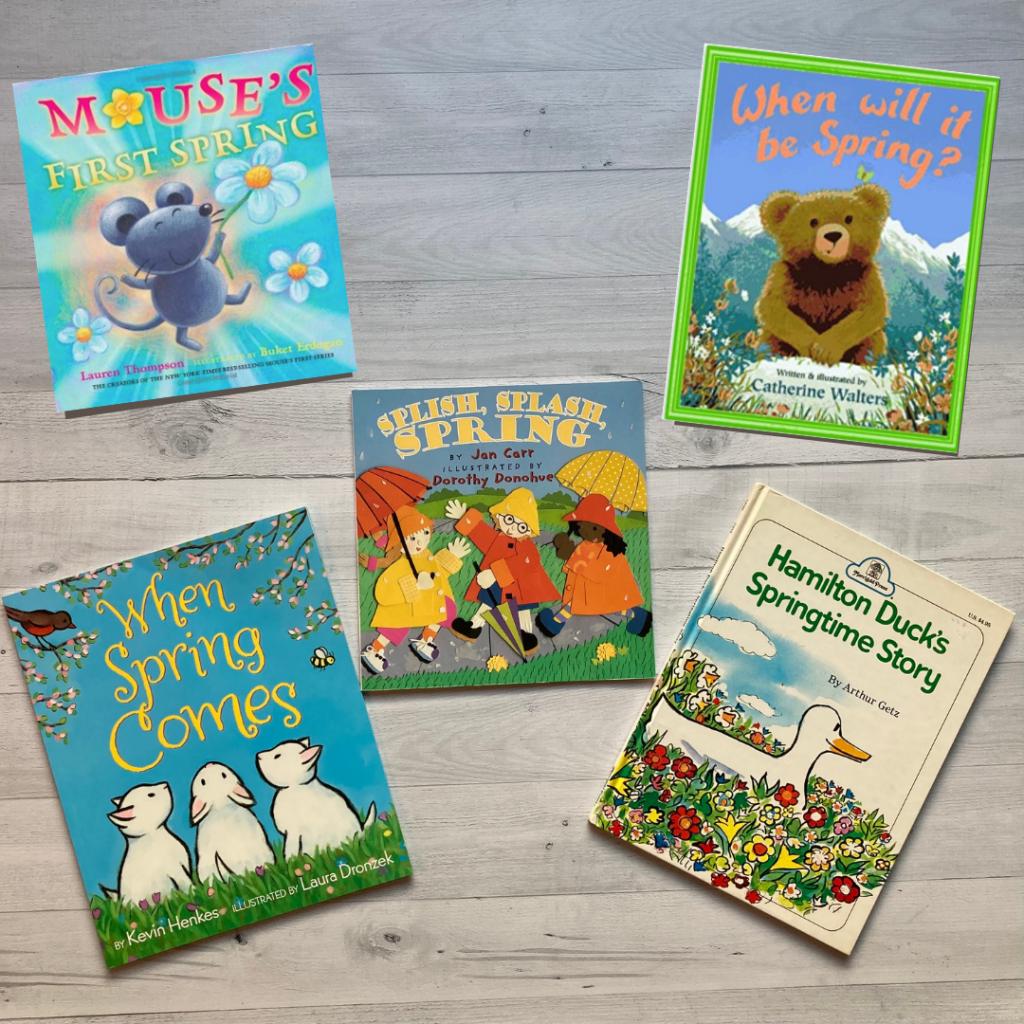 spring fiction books