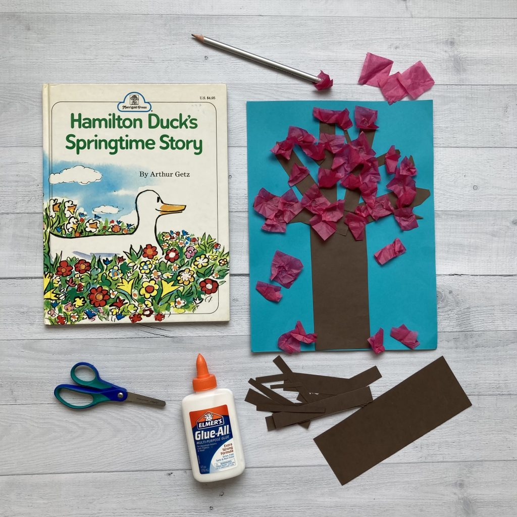 spring activities for kids craft