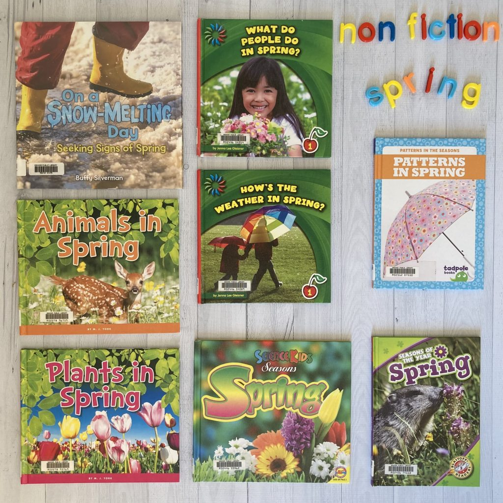 spring nonfiction books
