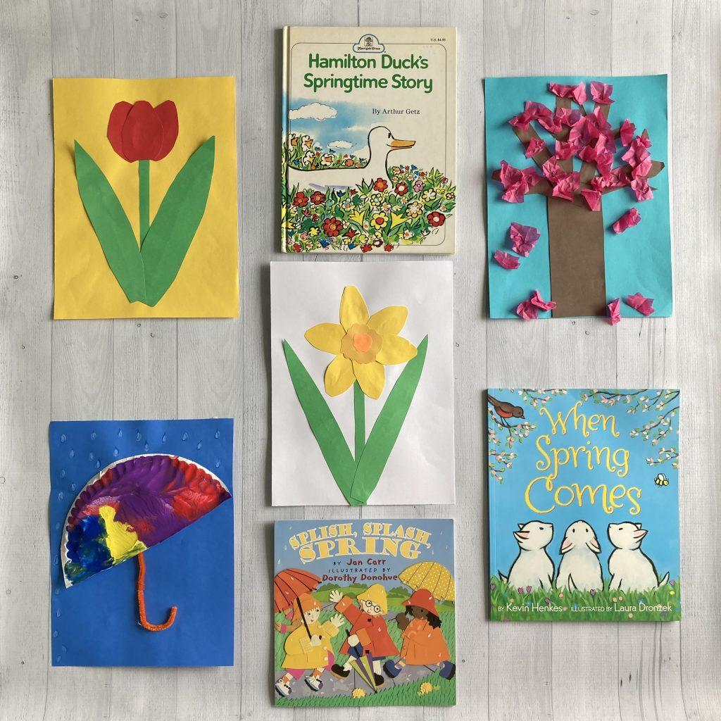 spring activities for kids read aloud
