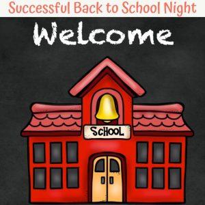 bak to school night for teachers