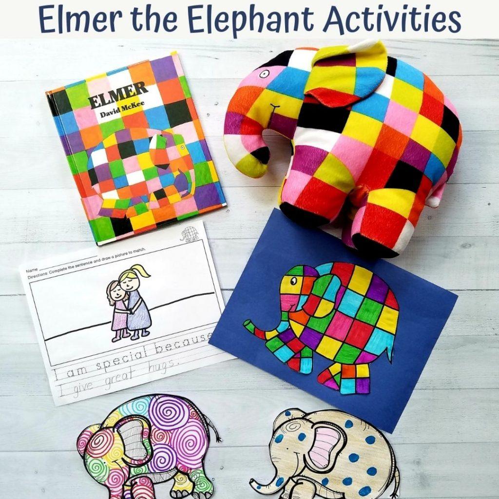 elmer the elephant activities for kindergarten