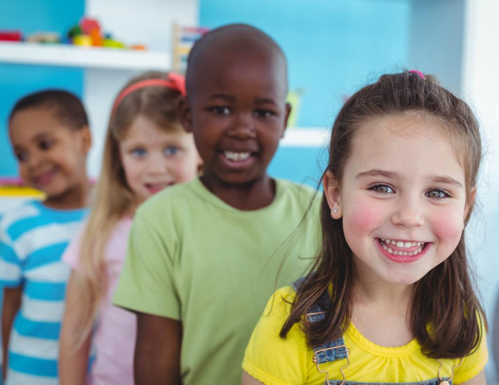 kindergarten-kids-in-a-line