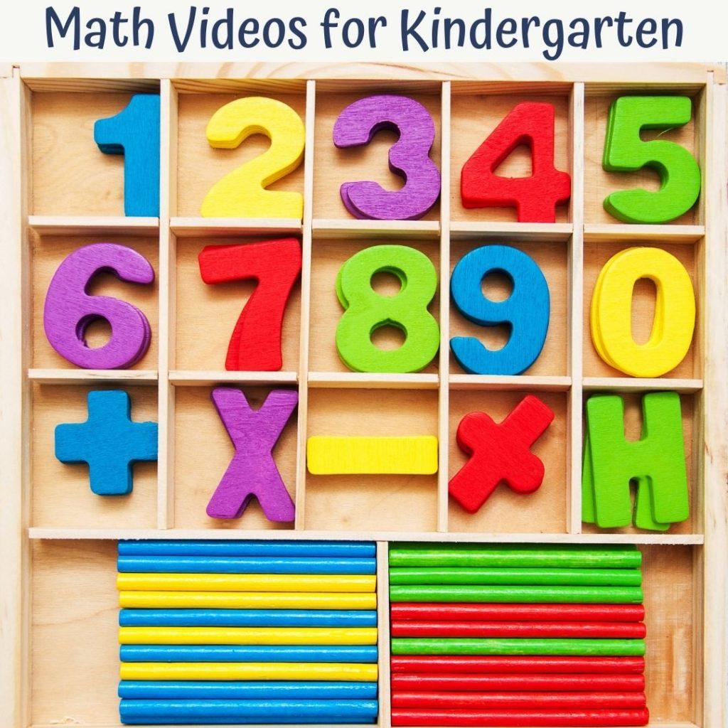 math videos for kindergarten