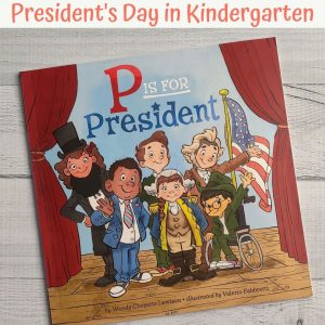 presidents day book for kindergarten