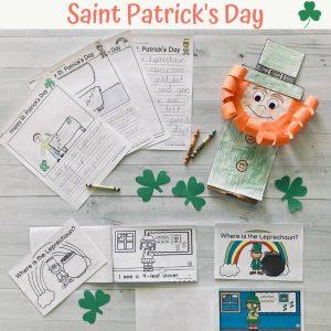 st patricks day activities for kindergarten