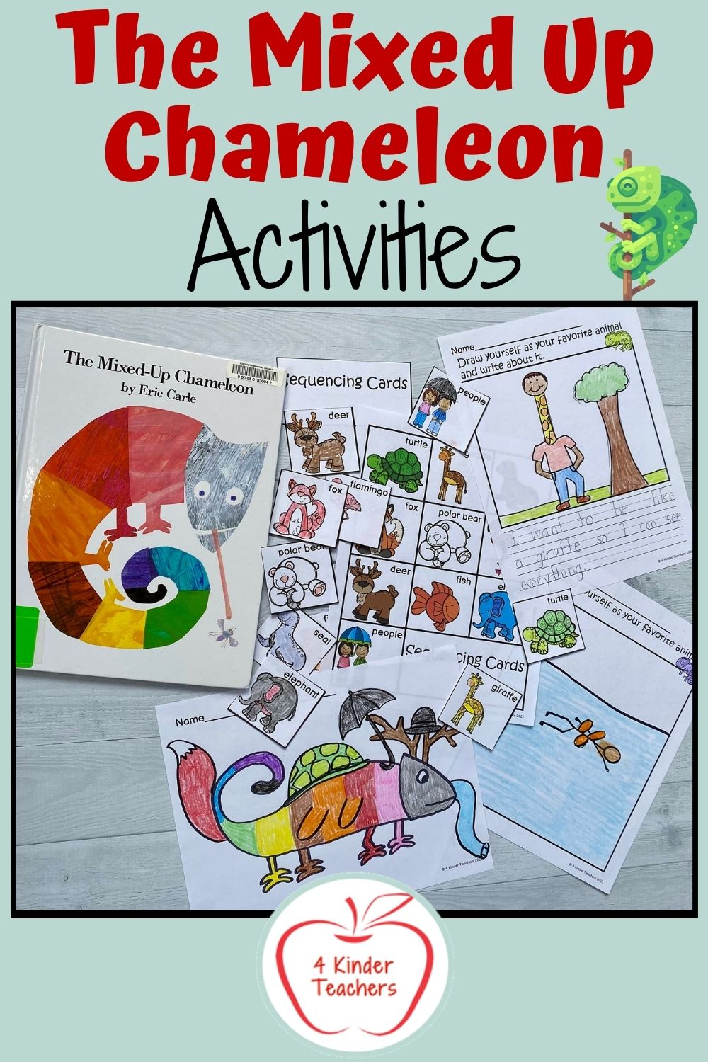 Super Fun Activities for The Mixed Up Chameleon