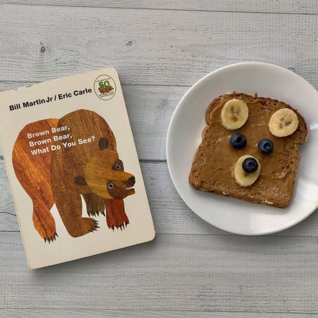 brown bear brown bear snack