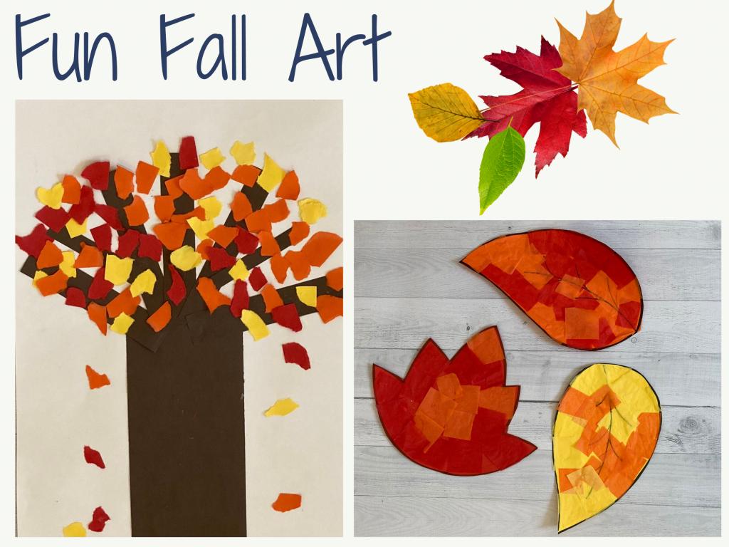 examples of kindergarten fall art activities
