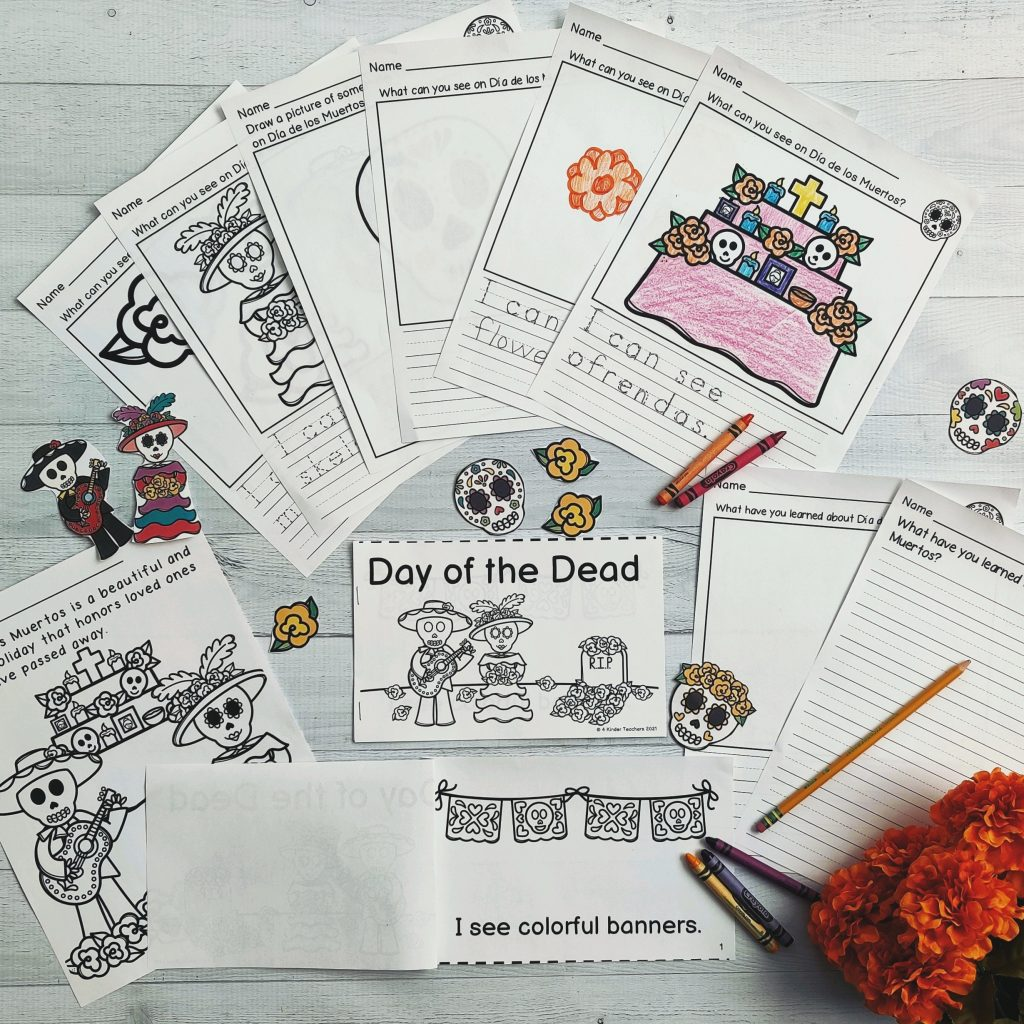 day of the dead printables for kids