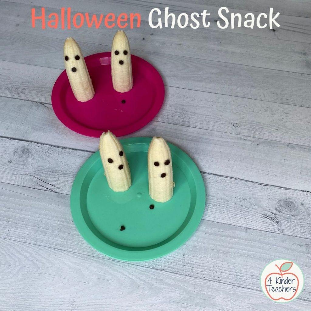 halloween ghost snack