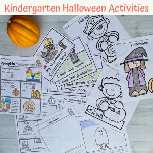 kindergarten halloween acitivities